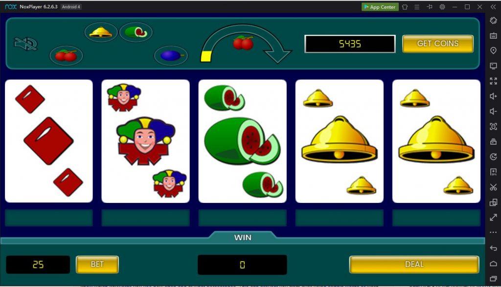 Fruit poker Classic PC emulation